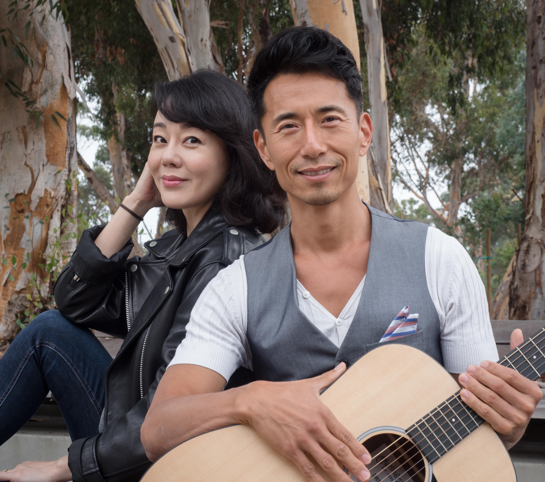Yunjin Kim and James Kyson of WILD GOOSE DREAMS