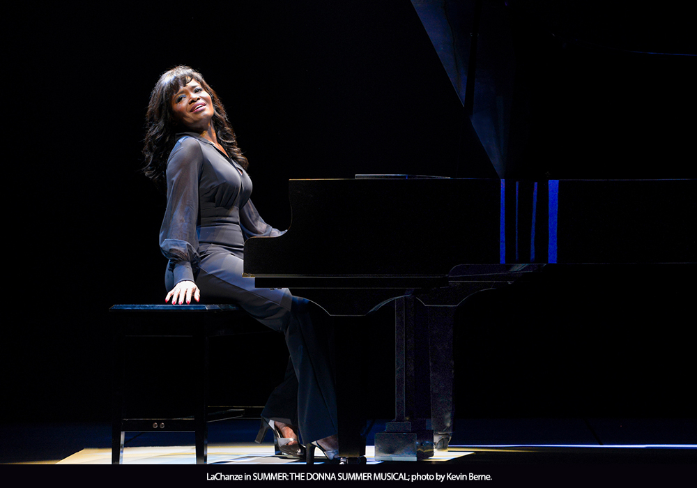 LaChanze in SUMMER: THE DONNA SUMMER MUSICAL; photo by Kevin Berne.