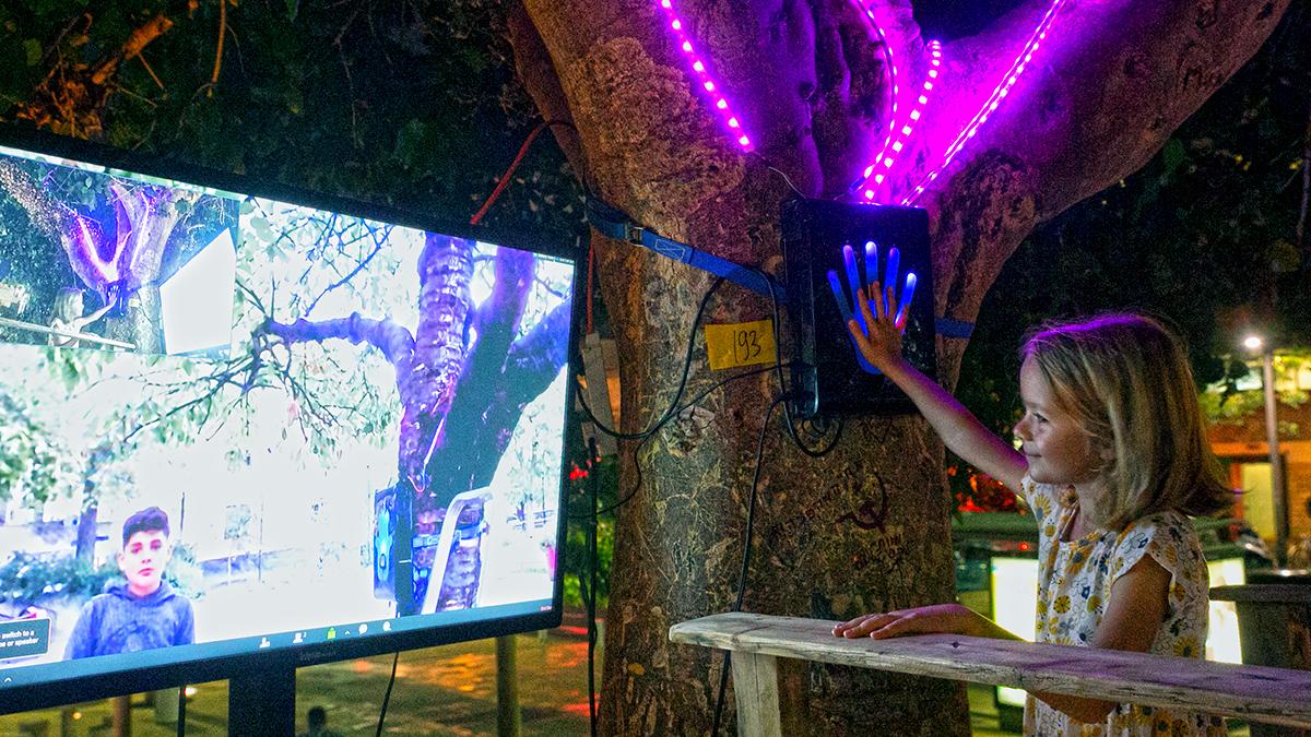 PORTALS Interactive Connected Trees - Matan