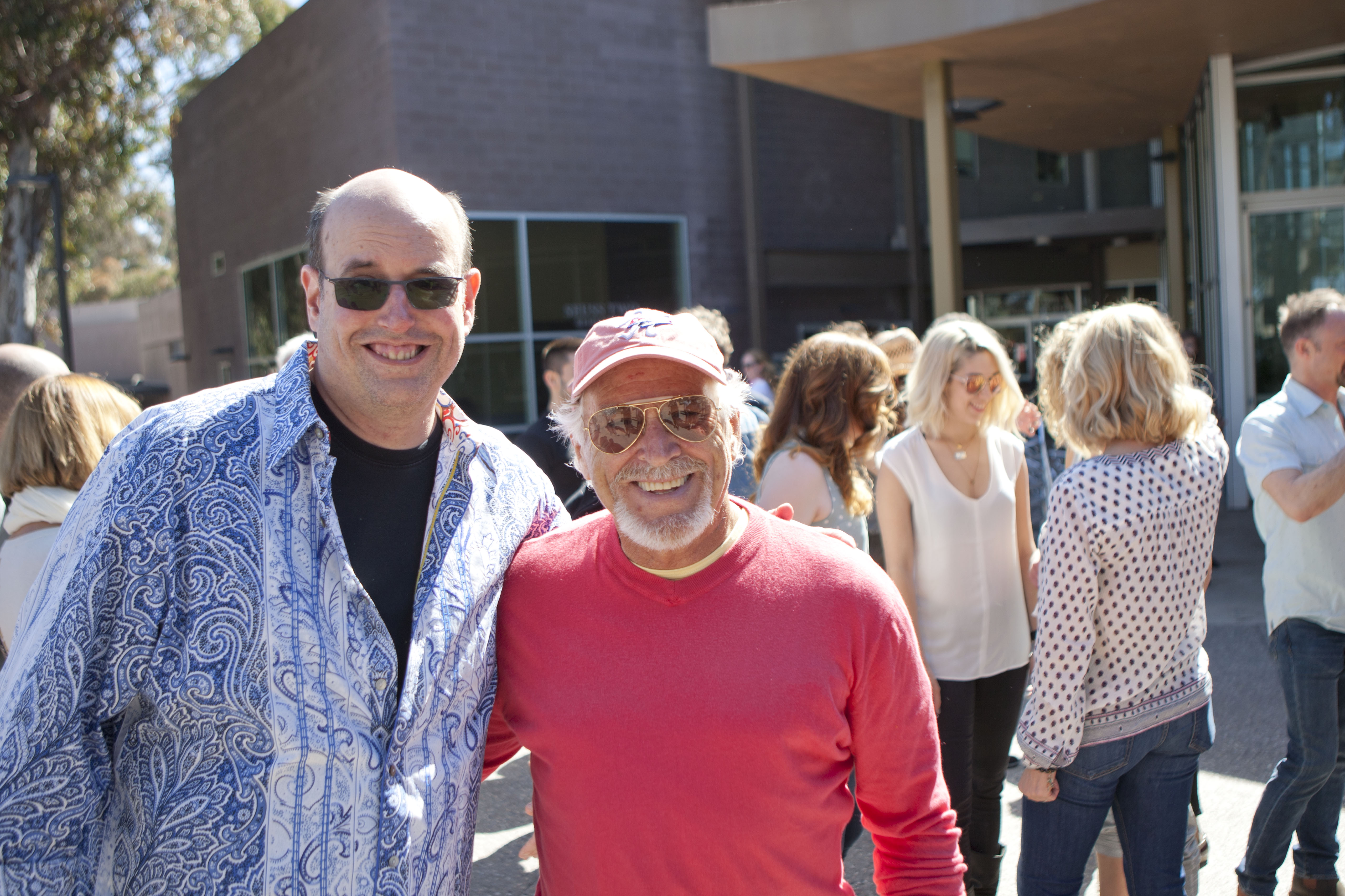 Christopher Ashley with Jimmy Buffett