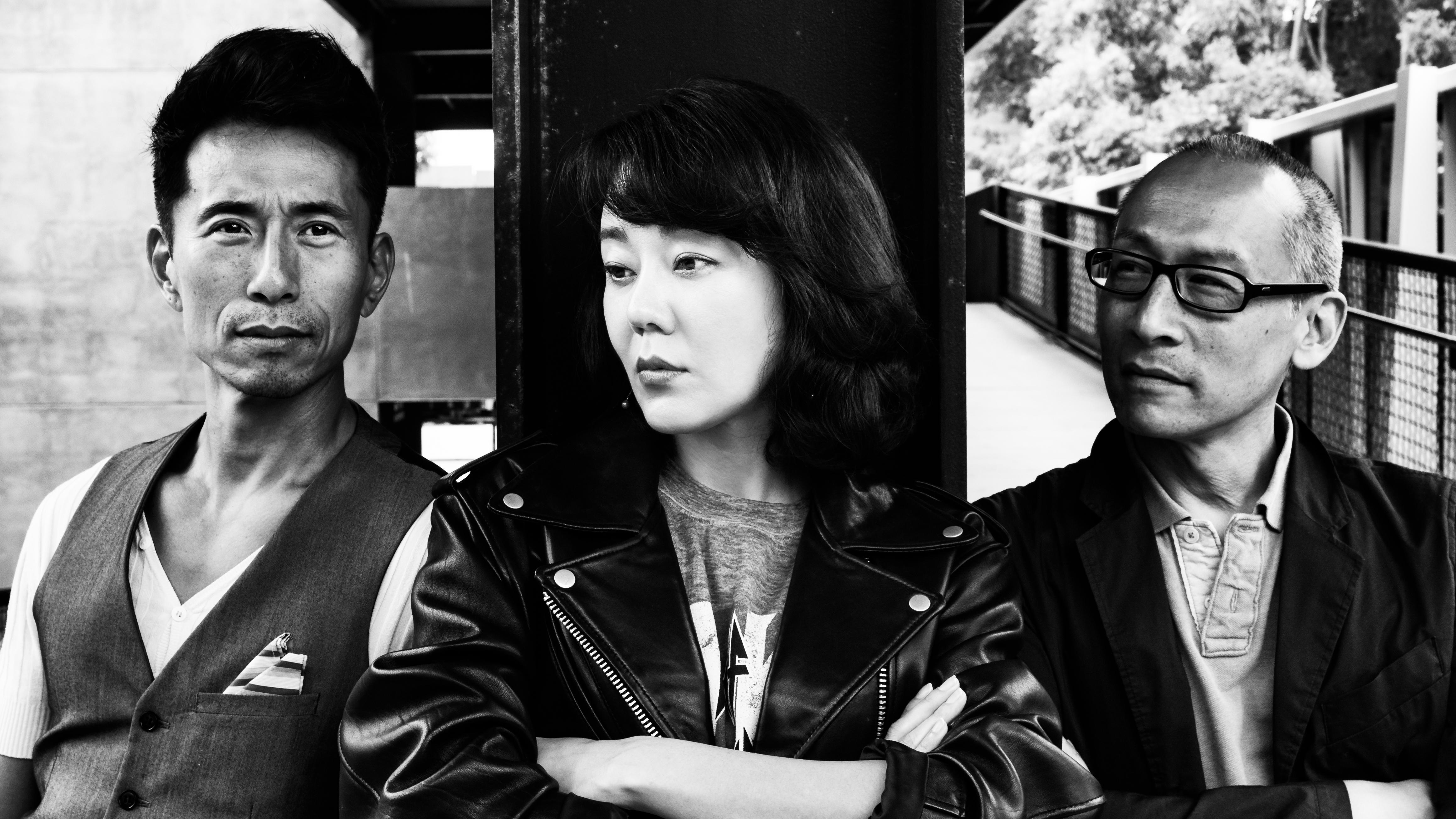 James Kyson, Yunjin Kim, and Francis Jue of WILD GOOSE DREAMS