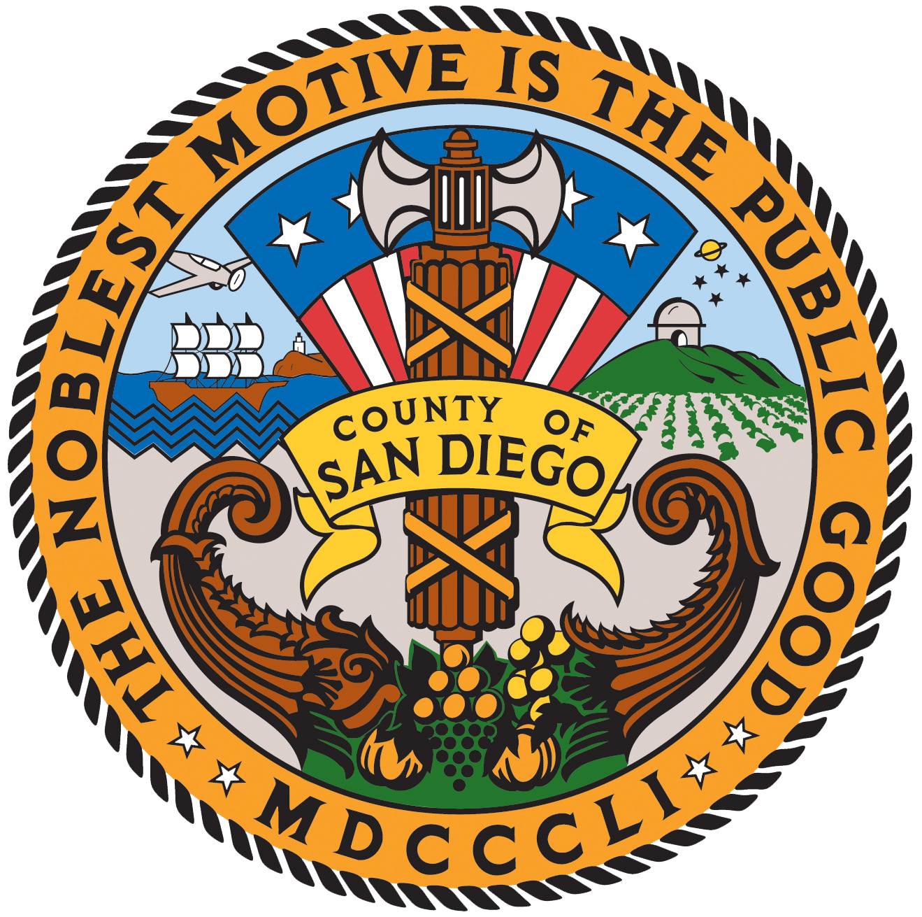The County of San Diego