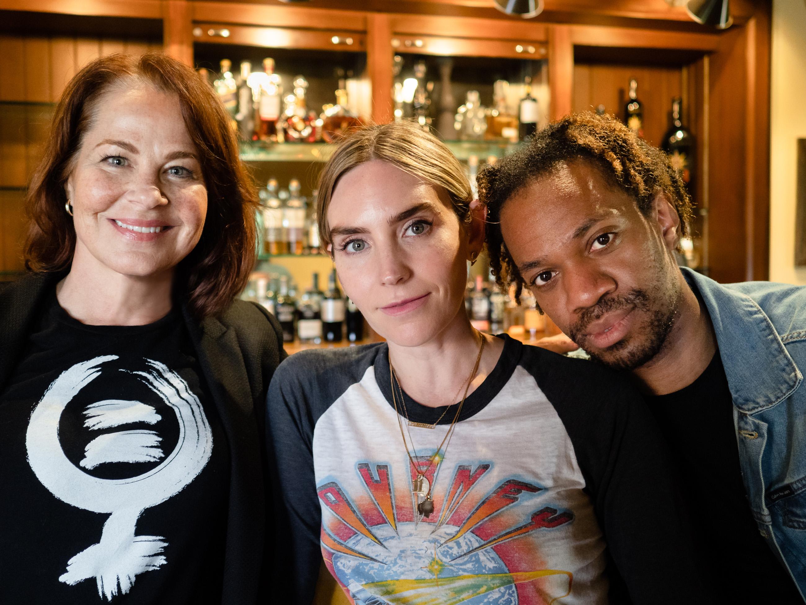 Deirdre Lovejoy, Aleque Reid, Reggie D. White of THE LUCKIEST. Photo by Jim Carmody.