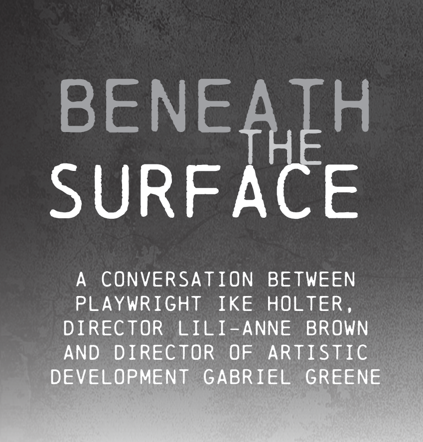 Beneath the Surface title treatment