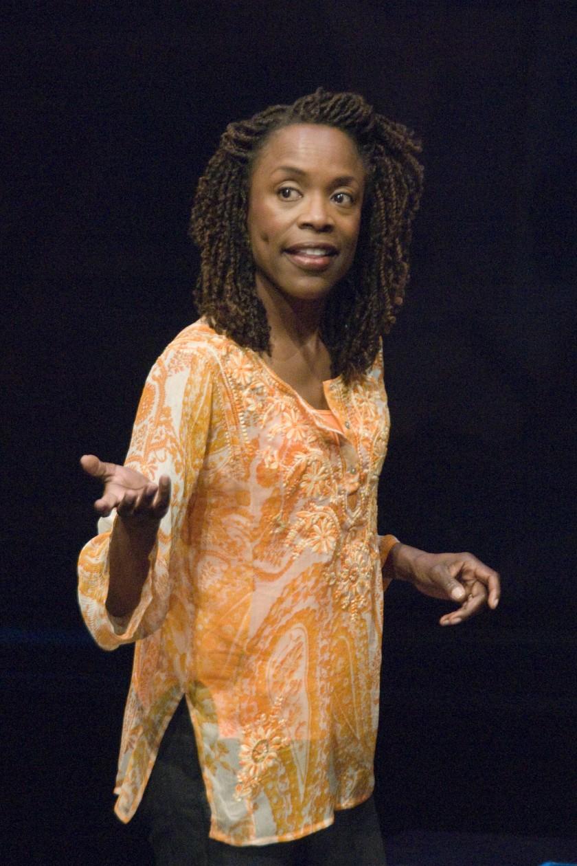 "Charlayne Woodard in her solo play ""The Night Watcher"" at La Jolla Playhouse in 2008. (La Jolla Playhouse)"