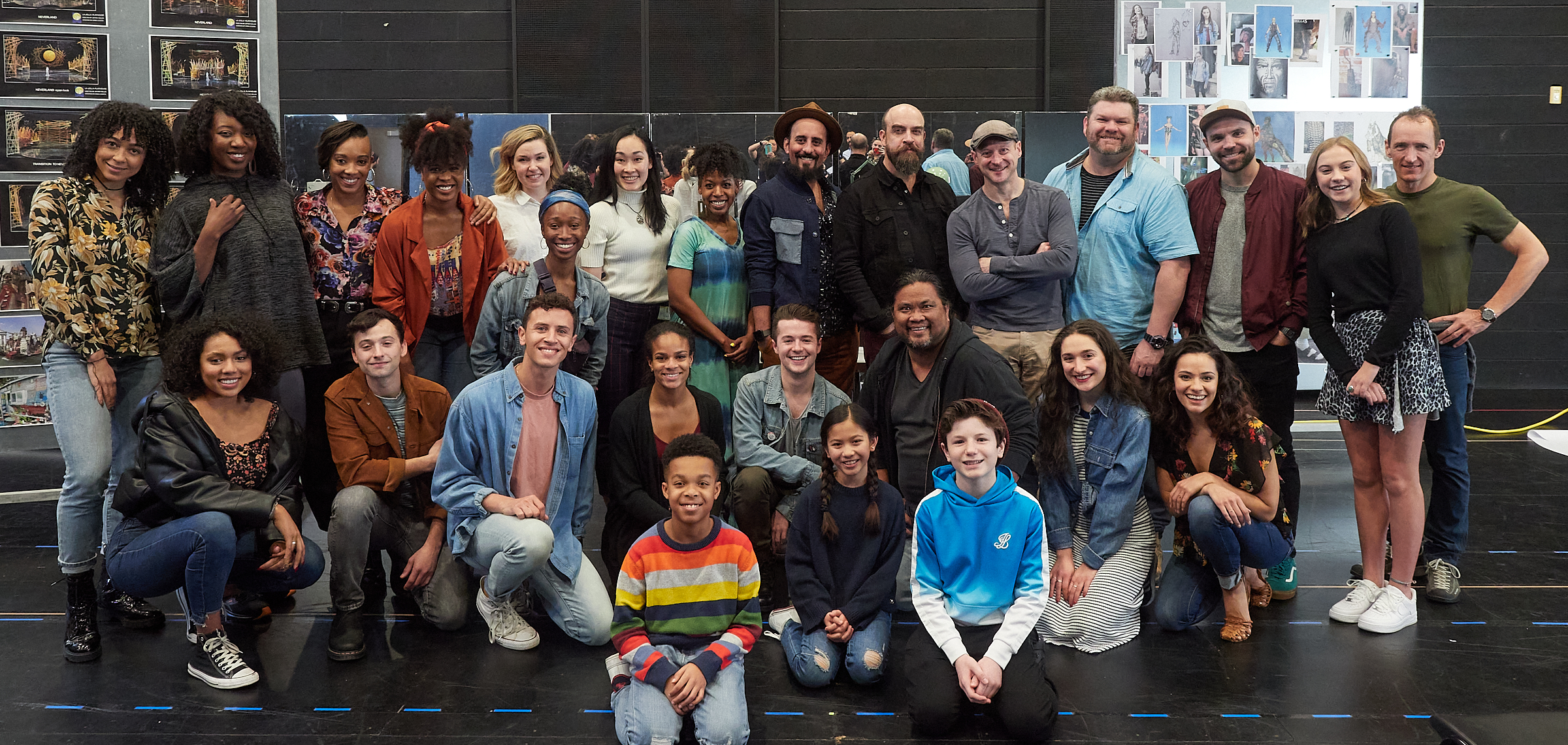 The cast of FLY at La Jolla Playhouse