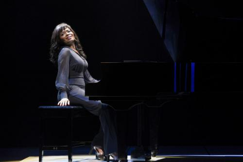 """LaChanze as """"Diva Donna"""" in La Jolla Playhouse's world premiere of SUMMER: THE DONNA SUMMER MUSICAL; photo by Kevin Berne."""